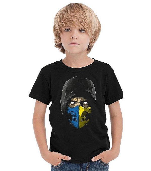 Camiseta Infantil Scorpion - Nerd e Geek - Presentes Criativos