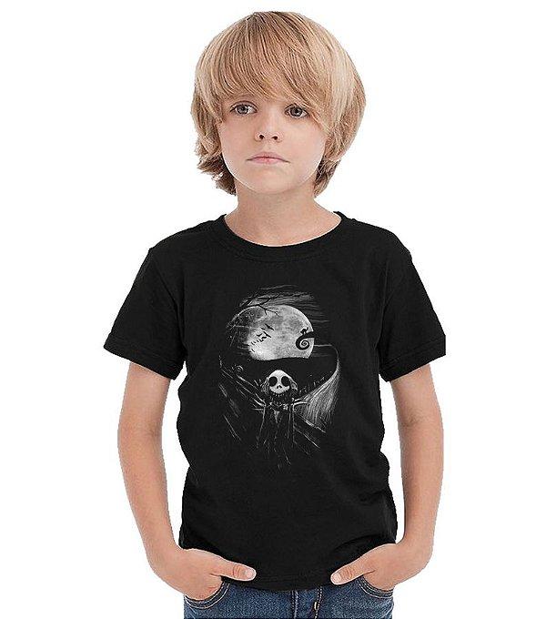 Camiseta Infantil O Estranho Mundo de Jack   - Nerd e Geek - Presentes Criativos