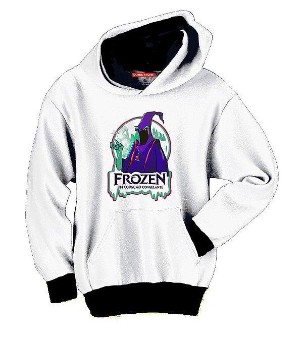 Blusa com Capuz Frozen