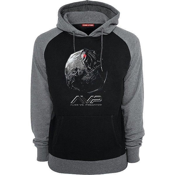 Blusa com Capuz Alien vs Predador