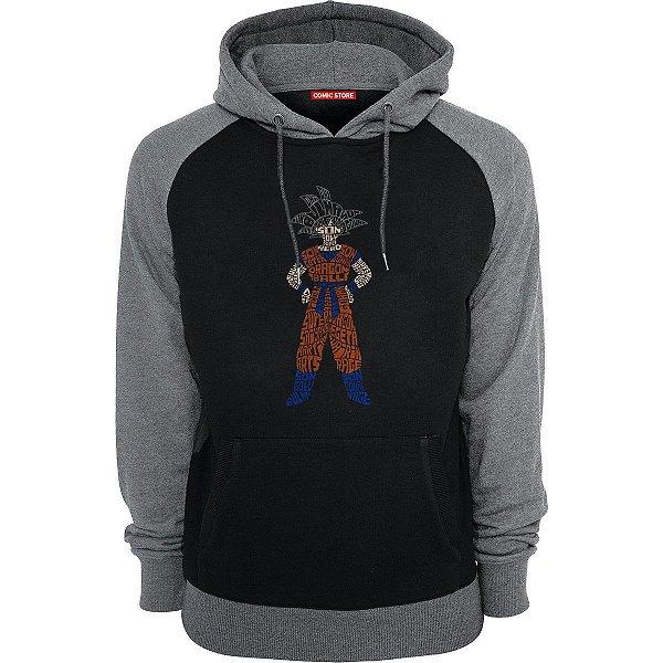 Blusa com Capuz Goku