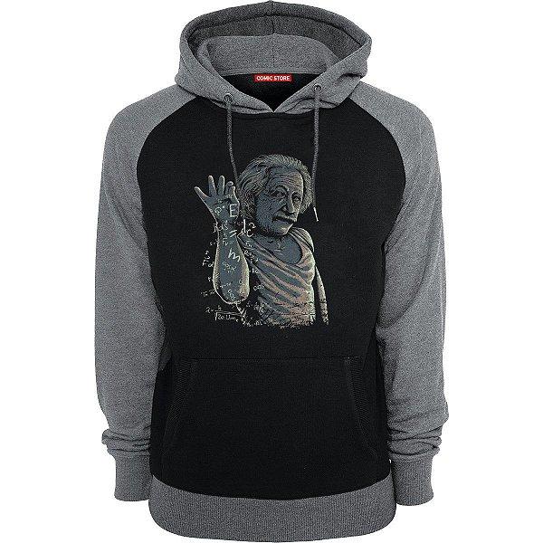 Blusa com Capuz Albert Einstein