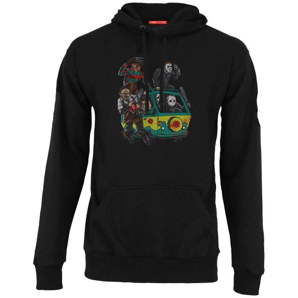 Blusa com Capuz Freddy e Jason - Killers