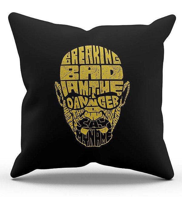 Almofada Decorativa  Breaking Bad 45x45 - Nerd e Geek - Presentes Criativos