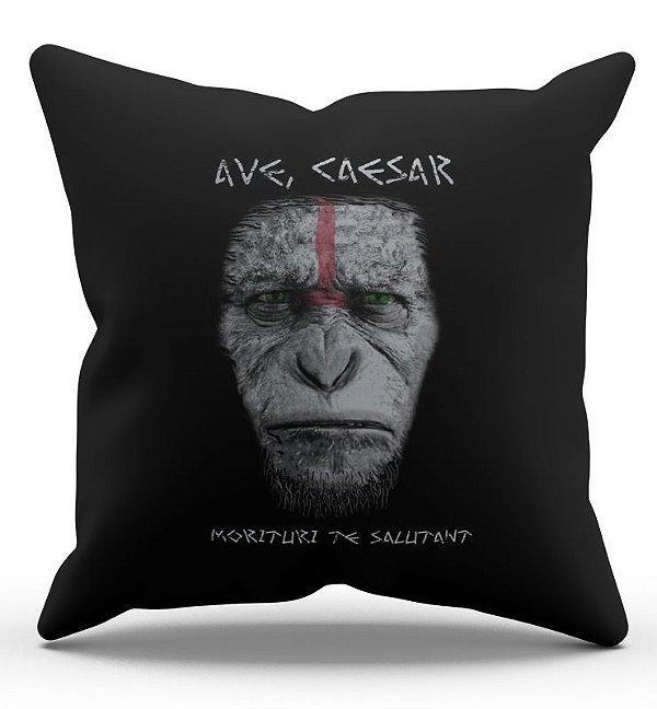 Almofada Decorativa  Planeta dos Macacos 45x45 - Nerd e Geek - Presentes Criativos