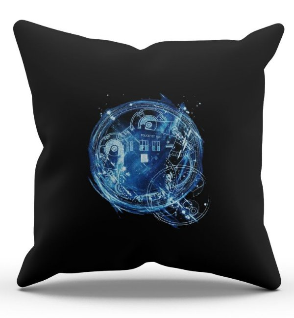 Almofada Decorativa  Doctor Who 45x45 - Nerd e Geek - Presentes Criativos