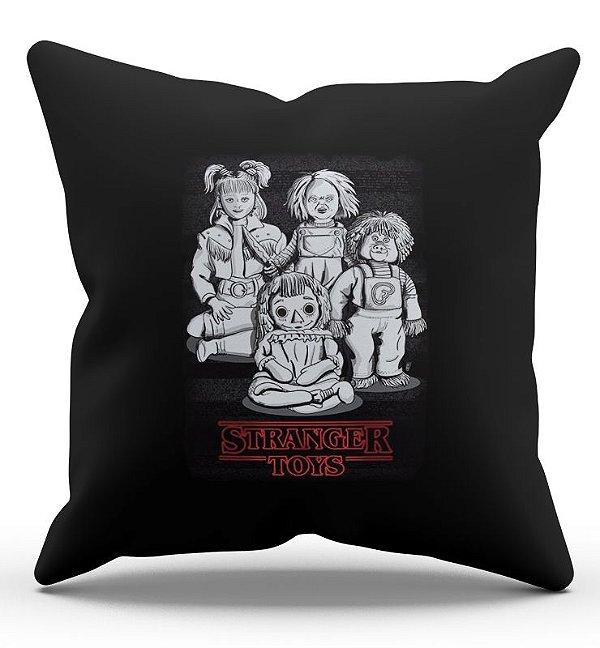 Almofada Decorativa  Stranger Toys 45x45 - Nerd e Geek - Presentes Criativos