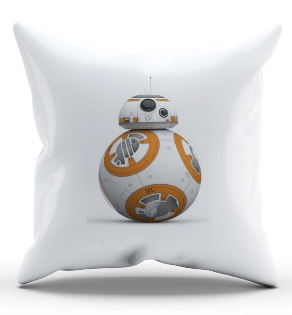 Almofada Decorativa  BB-8 45x45 - Nerd e Geek - Presentes Criativos
