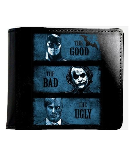 Carteira Batman The Good The Bad - Nerd e Geek - Presentes Criativos