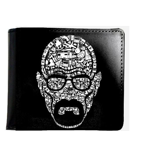 Carteira Breaking Bad - Walter White - Nerd e Geek - Presentes Criativos