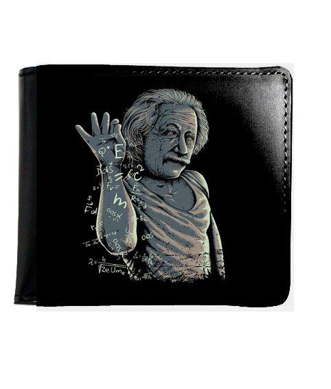 Carteira Albert Einstein - Nerd e Geek - Presentes Criativos