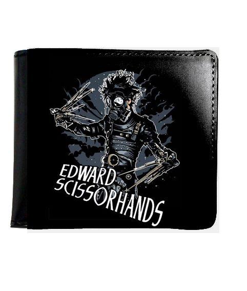 Carteira Edwards Mãos de Tesouras - Nerd e Geek - Presentes Criativos