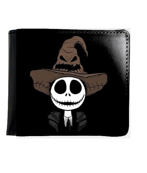 Carteira  Jack Skellington - Nerd e Geek - Presentes Criativos