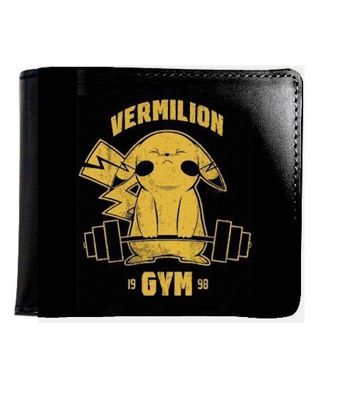 Carteira Pokemon Vermilion Gym - Nerd e Geek - Presentes Criativos