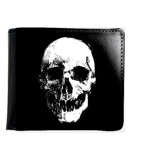 Carteira Skull - Nerd e Geek - Presentes Criativos