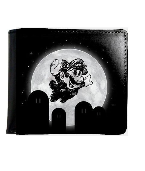 Carteira Super Mario Night - Nerd e Geek - Presentes Criativos