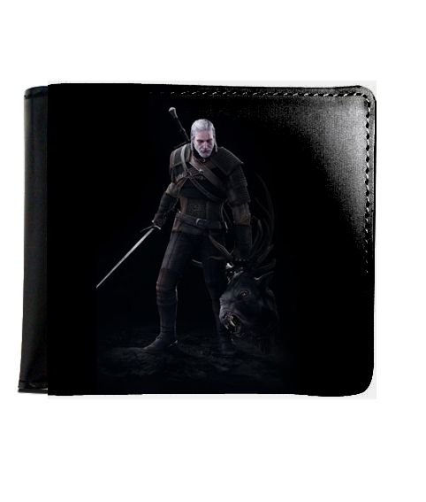 Carteira The Witcher 3 - Nerd e Geek - Presentes Criativos
