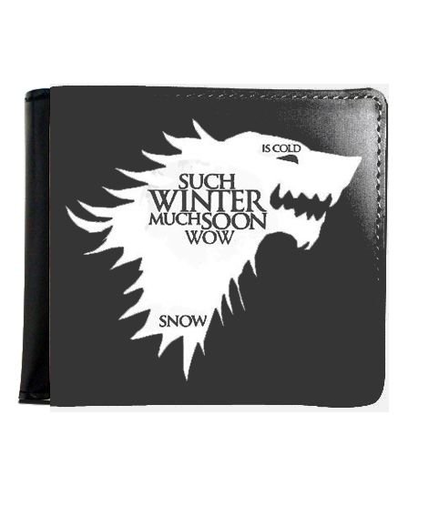 Carteira Game of Thrones Wolf
