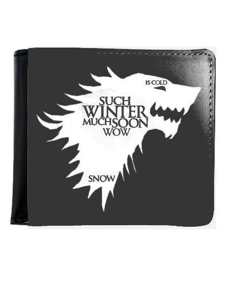 Carteira Game of Thrones Wolf - Nerd e Geek - Presentes Criativos