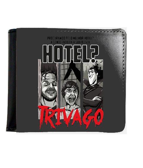 Carteira Hotel Trivago - Nerd e Geek - Presentes Criativos