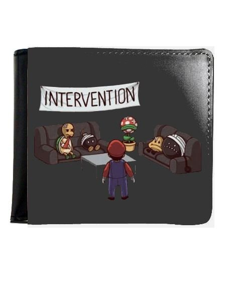 Carteira Intervention - Nerd e Geek - Presentes Criativos
