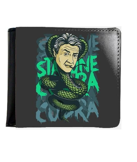 Carteira Stallone Cobra - Nerd e Geek - Presentes Criativos