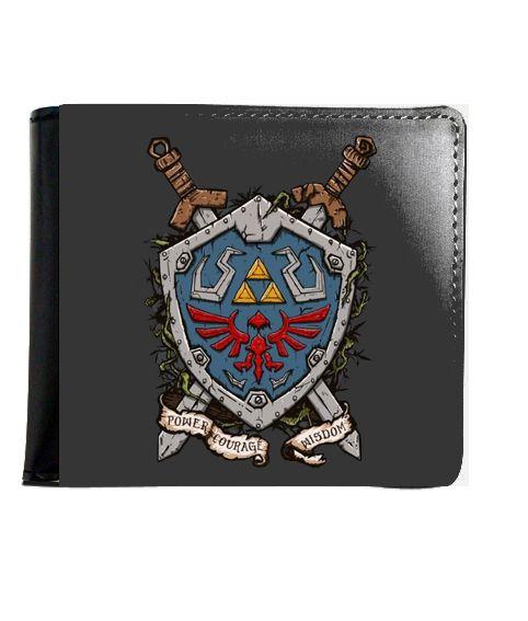 Carteira The Legend of Zelda Master word - Nerd e Geek - Presentes Criativos