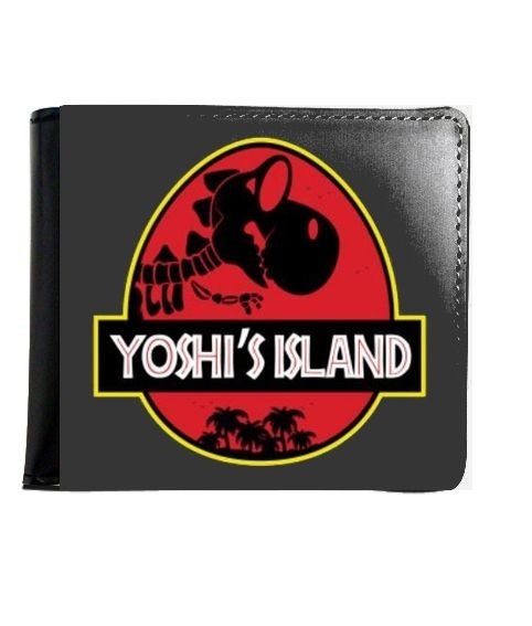 Carteira Yoshi Island - Nerd e Geek - Presentes Criativos