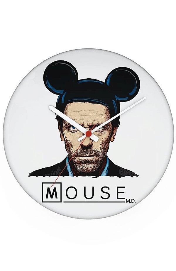 Relógio de Parede Dr House: Mouse