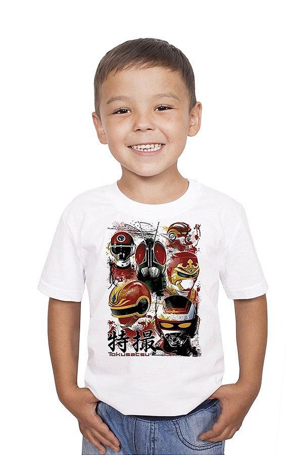 Camiseta Infantil Jaspion - Nerd e Geek - Presentes Criativos