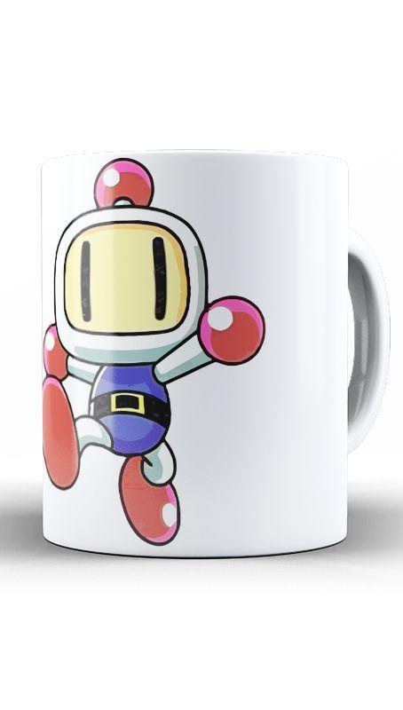 Caneca Bomberman - Nerd e Geek - Presentes Criativos