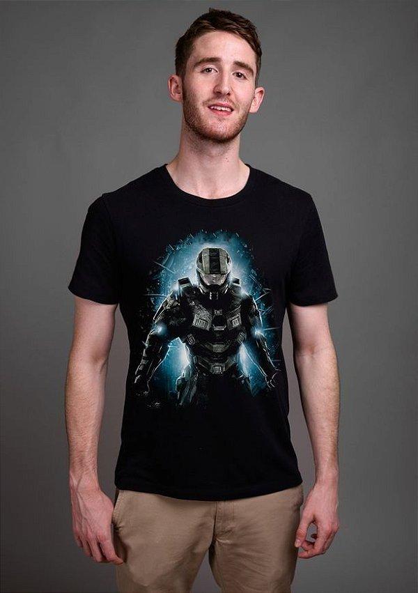 Camiseta Masculina   Halo - Nerd e Geek - Presentes Criativos