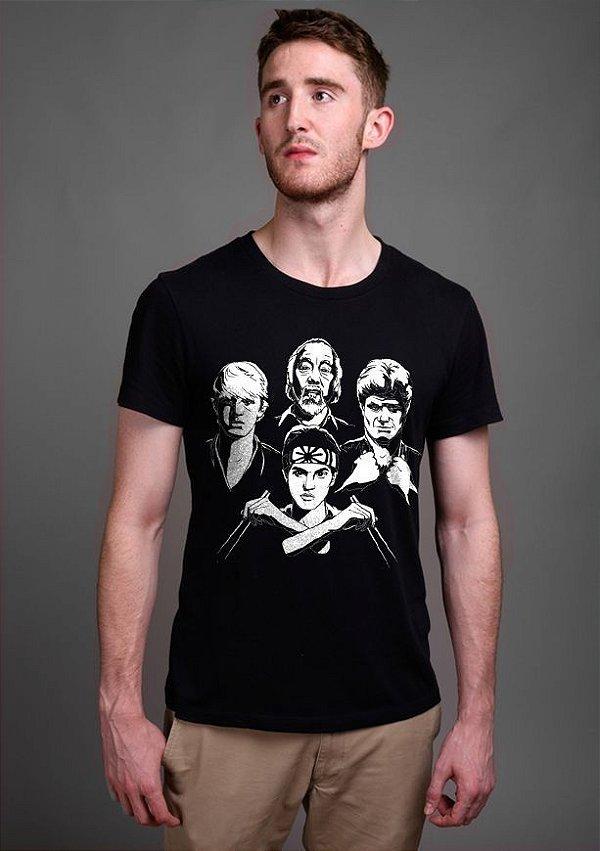 Camiseta Masculina   Karate Kid - Nerd e Geek - Presentes Criativos