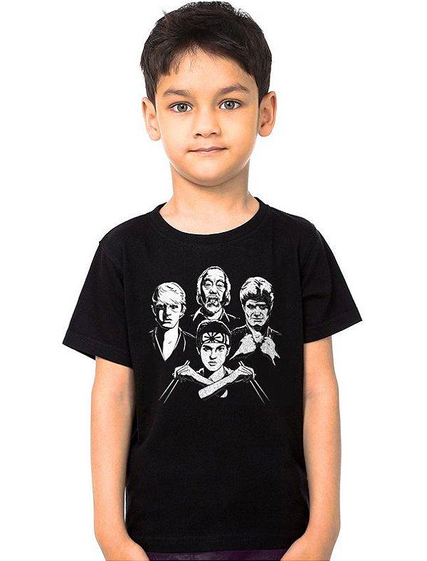 Camiseta Infantil Karate Kid   - Nerd e Geek - Presentes Criativos