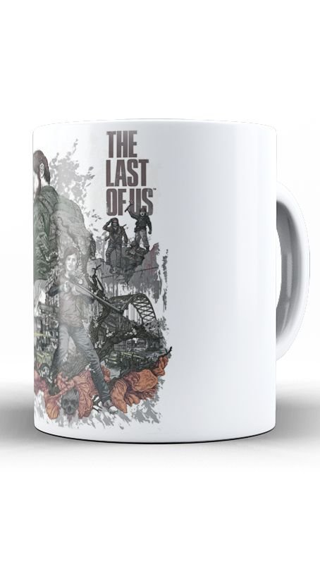 Caneca The Last Of Us - Nerd e Geek - Presentes Criativos