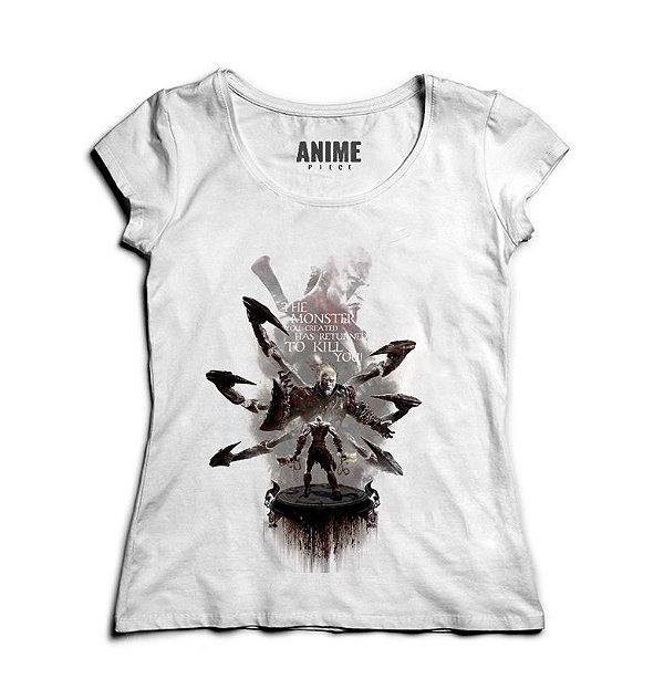 Camiseta Feminina God of War - Nerd e Geek - Presentes Criativos