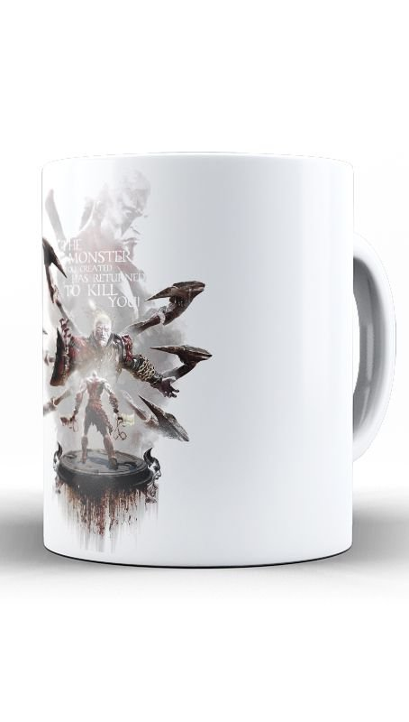 Caneca God of War - Nerd e Geek - Presentes Criativos