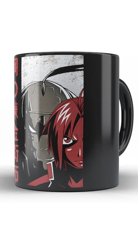 Caneca Anime  Full Metal Red