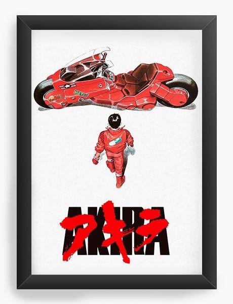 Quadro Decorativo A4 (33X24) Anime Akira