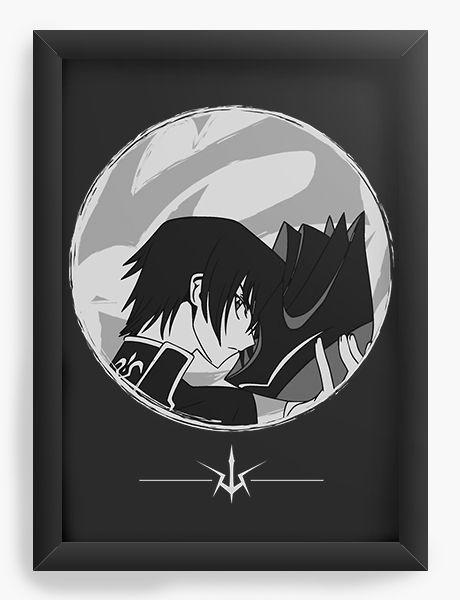 Quadro  Decorativo Anime Code Geass Rebellion - Nerd e Geek - Presentes Criativos