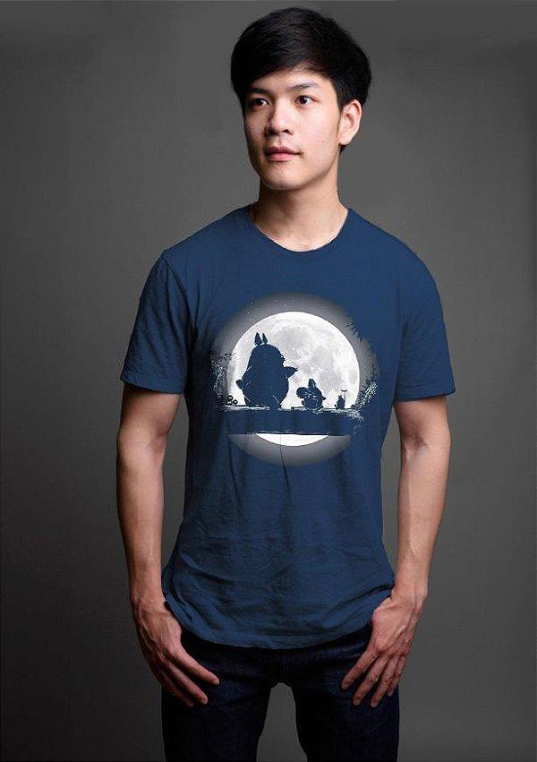 Camiseta Masculina  Anime Totoro Hakuna Matata - Nerd e Geek - Presentes Criativos