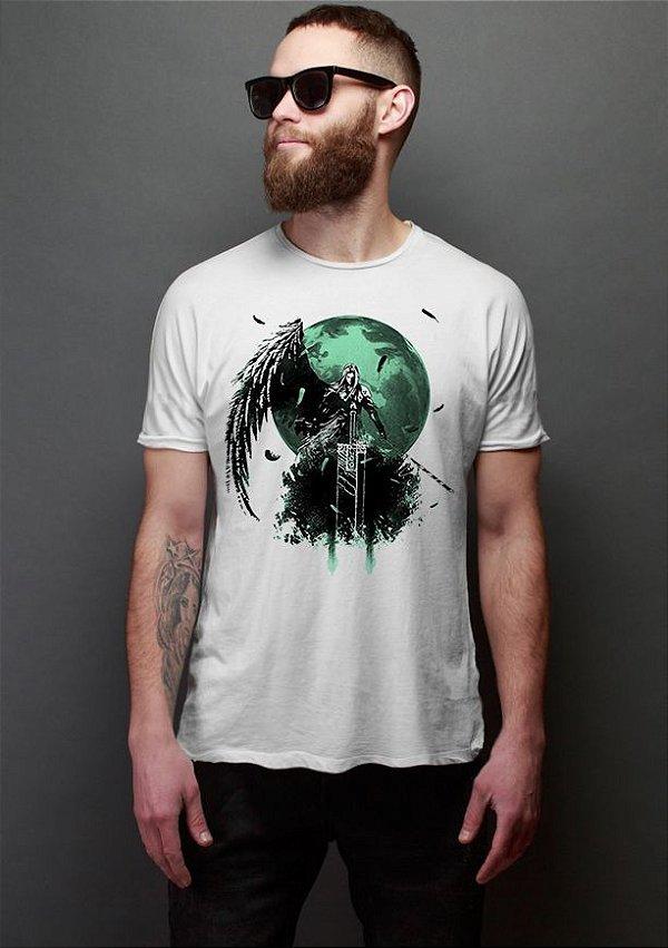 Camiseta Masculina   FF Final Battle - Nerd e Geek - Presentes Criativos