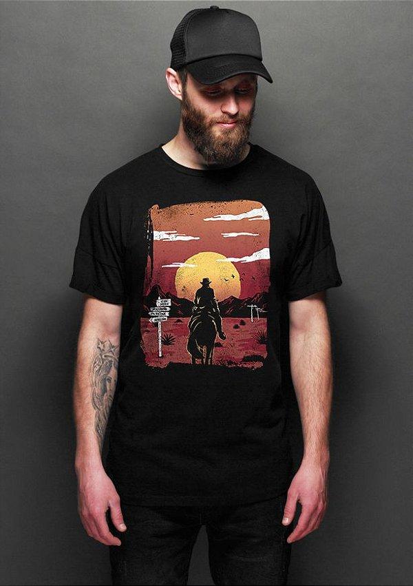 Camiseta Masculina   Read Dead - Nerd e Geek - Presentes Criativos
