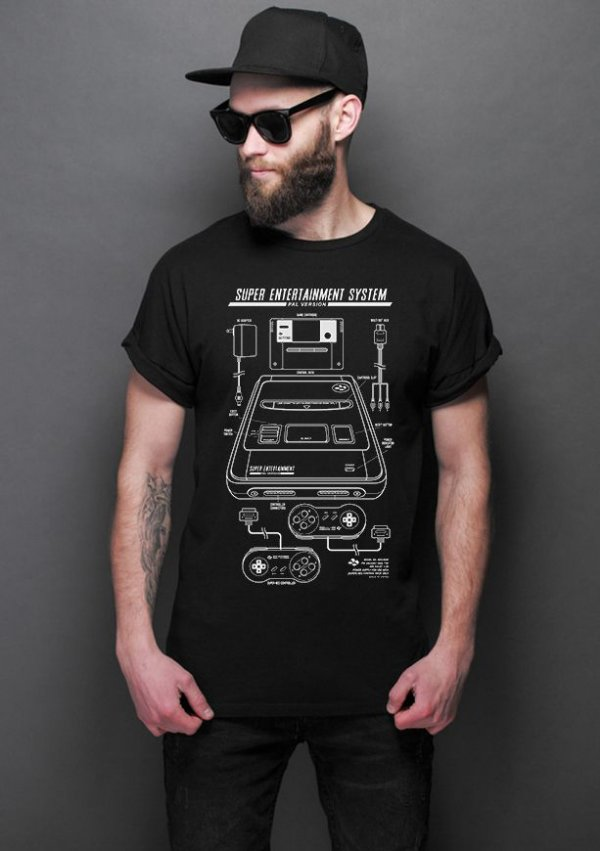 Camiseta Masculina  Super System - Nerd e Geek - Presentes Criativos