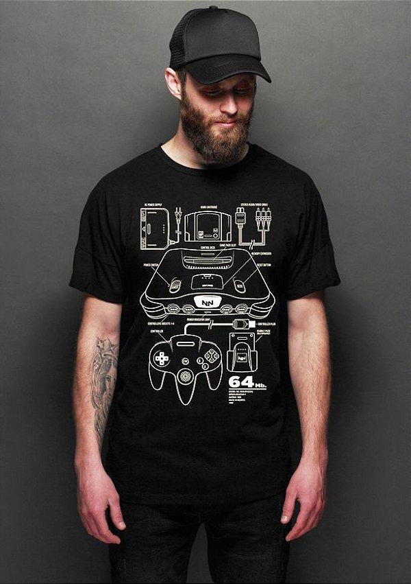 Camiseta Masculina  NN - Nerd e Geek - Presentes Criativos