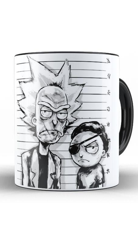 Caneca Rick and Morty - Nerd e Geek - Presentes Criativos
