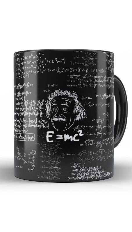 Caneca Albert Einstein - Nerd e Geek - Presentes Criativos