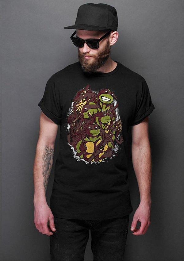 Camiseta Masculina  The Green Team - Nerd e Geek - Presentes Criativos