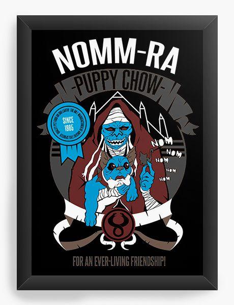 Quadro Decorativo Nomm-Ra - Nerd e Geek - Presentes Criativos
