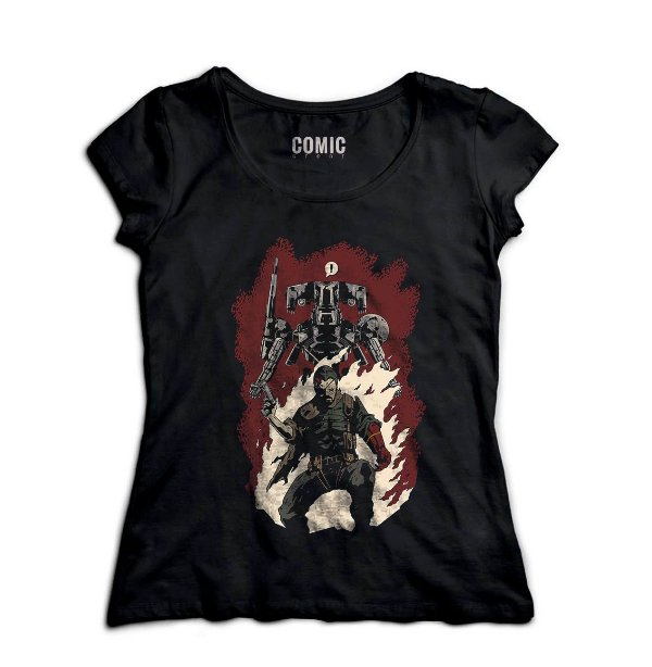 Camiseta Feminina  Hellboss - Nerd e Geek - Presentes Criativos